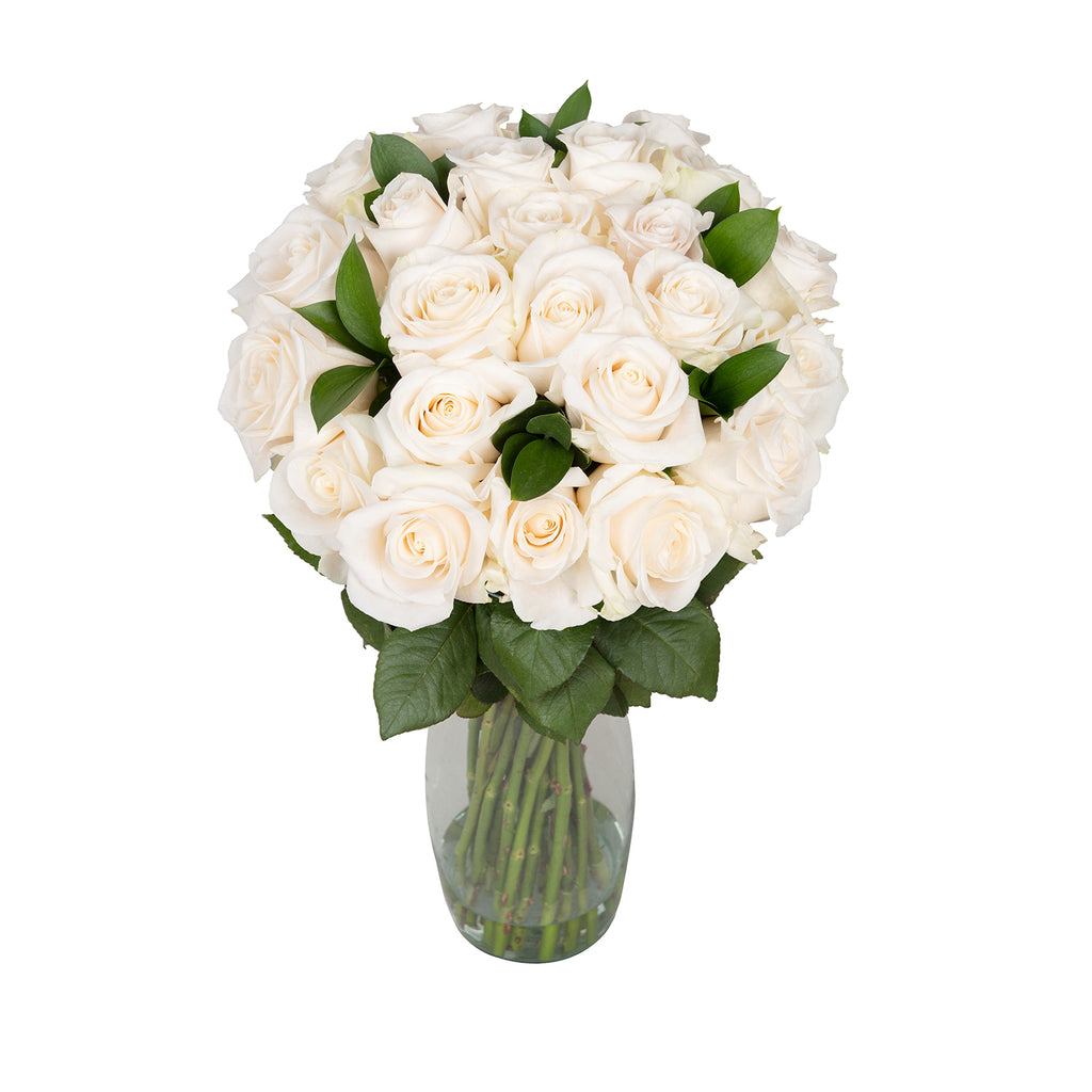 Purest Love Roses Bouquet Deluxe