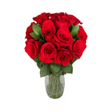 Be Mine Classic Red Roses Bouquet