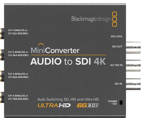 Audio-SDI konverter BMD