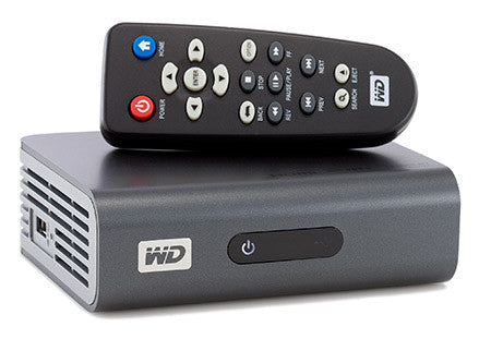 HD meediamangija WD-TV. komposiit. HDMI. s-video