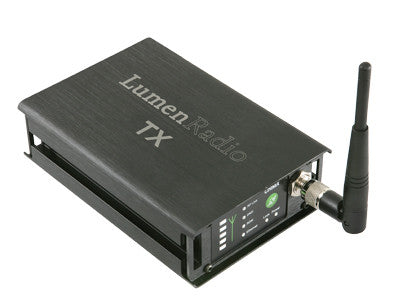 LumenRadio Wireless (Tx ja 2 Rx)