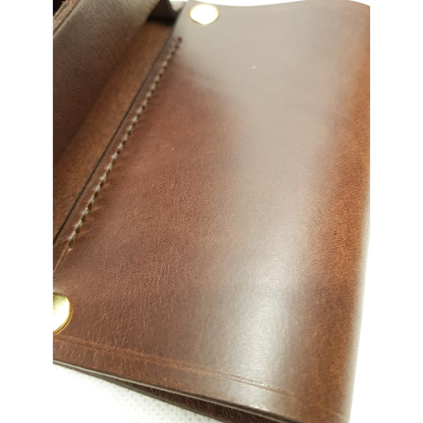 Leather Cartridge Box Holder Brown (ex demo)