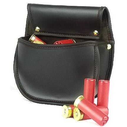 Shotgun Cartridge Pouch Sporter 30 Dark Havana Leather