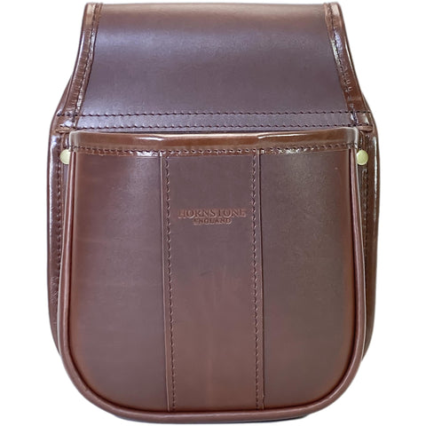 Shotgun Cartridge Pouch Chestnut Brown Leather Holds 50 (RGB 50)