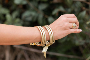 Golden Babe Bangle Set