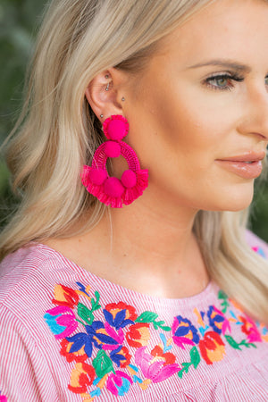 Beach Barbie Earrings