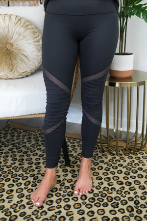 Charcoal Chute Leggings