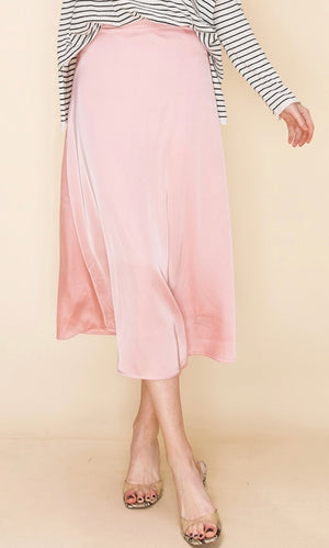 Satin Sweetheart Skirt