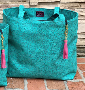 The Turquoise Dream Weekender By Makeup Junkie