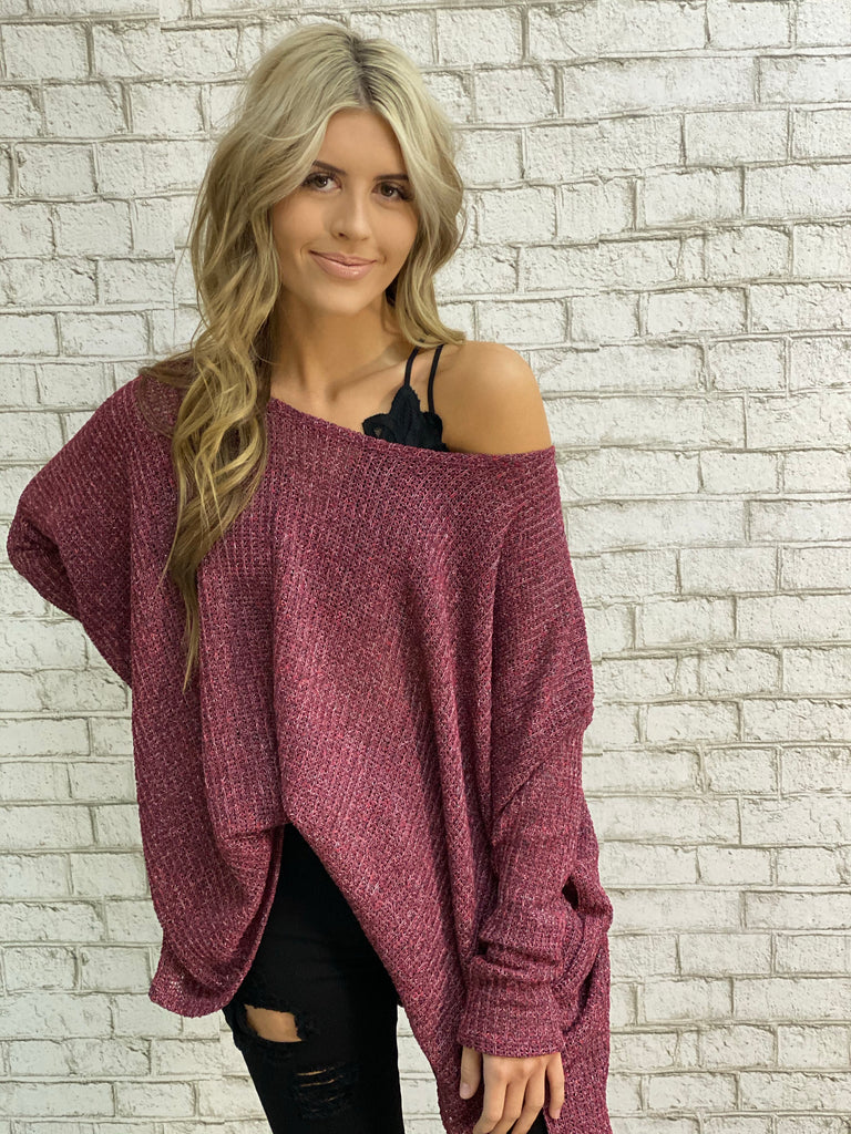 Qt Slouchy Sweater
