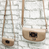 MM Stadium Crossbody - Studded Nude