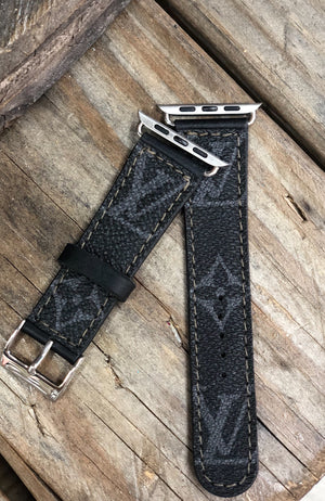 Louis V Apple Watch Band