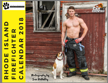 2018 Rhode Island Firefighter Calendar for the Providence Animal Rescue League