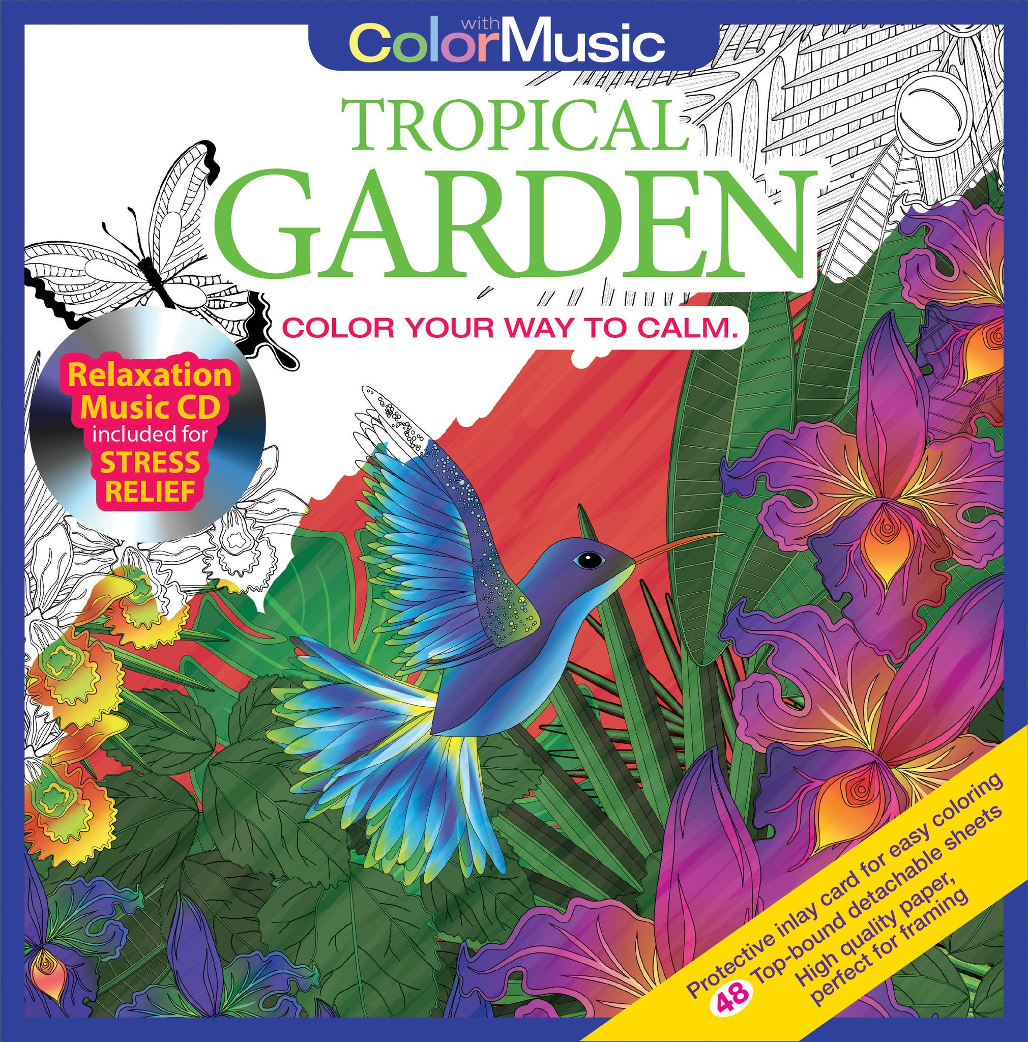 Shop Adult Coloring Books - Color With Music