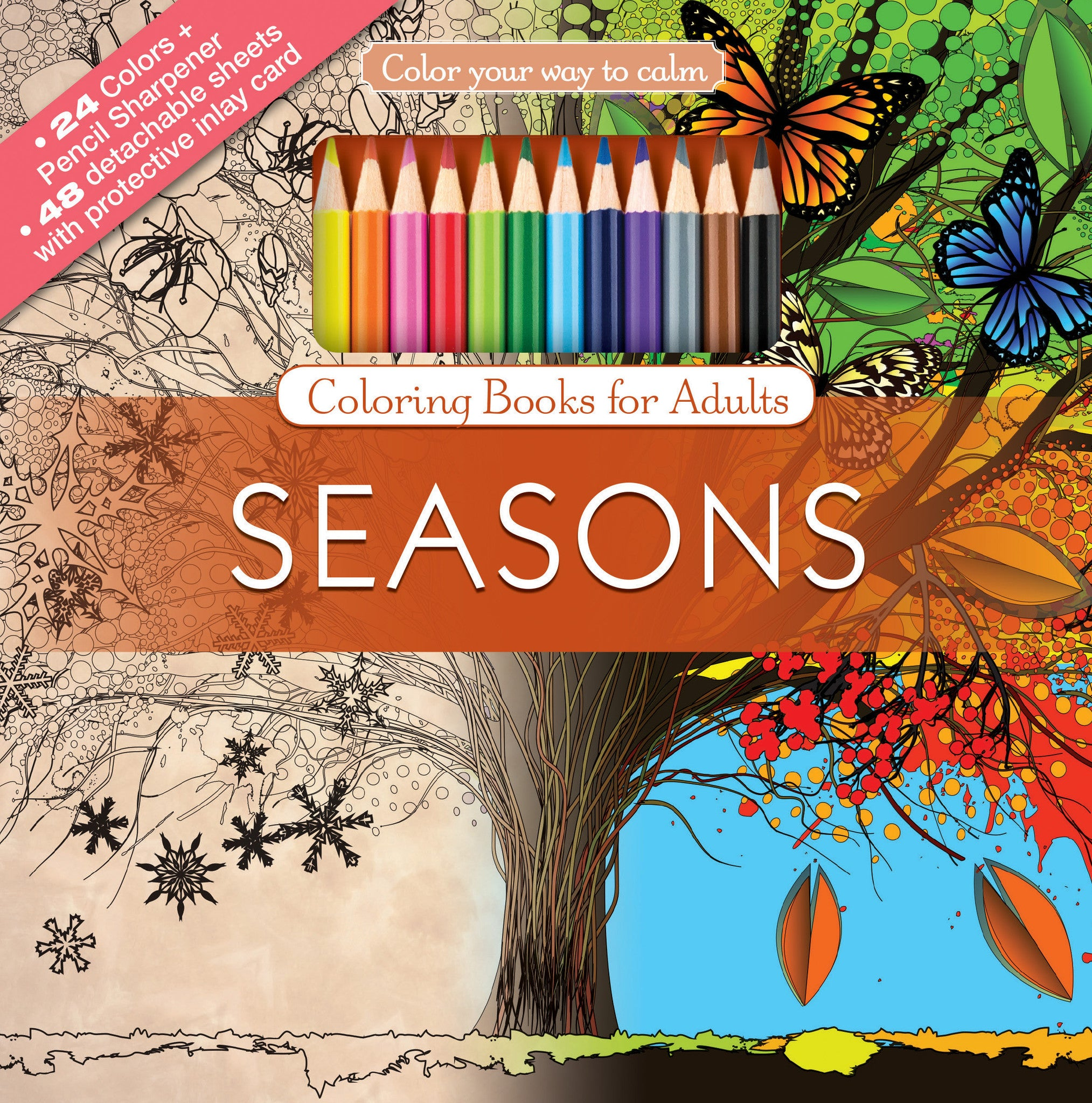 Coloring Books With Colored Pencils Tagged The Four Seasons