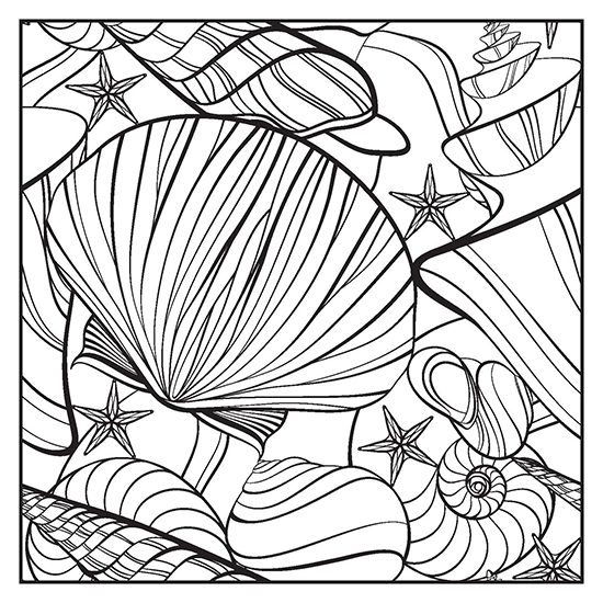 Island Breeze Adult Coloring Book With Color Pencils - Color With ...