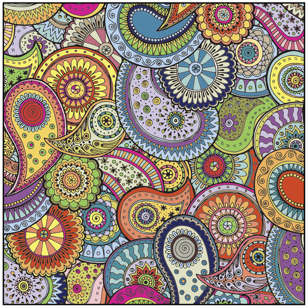 Patterns Shapes Designs Adult Coloring Book Includes Bonus Relaxation Cd