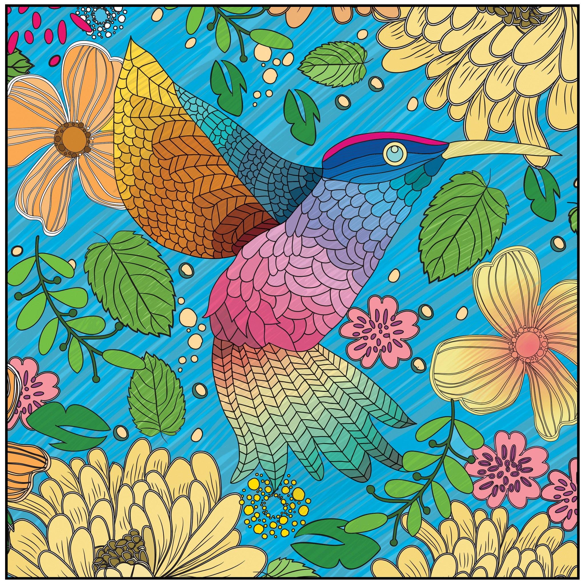 RELAXATION MUSIC CD COLORING BOOKS - Color With Music