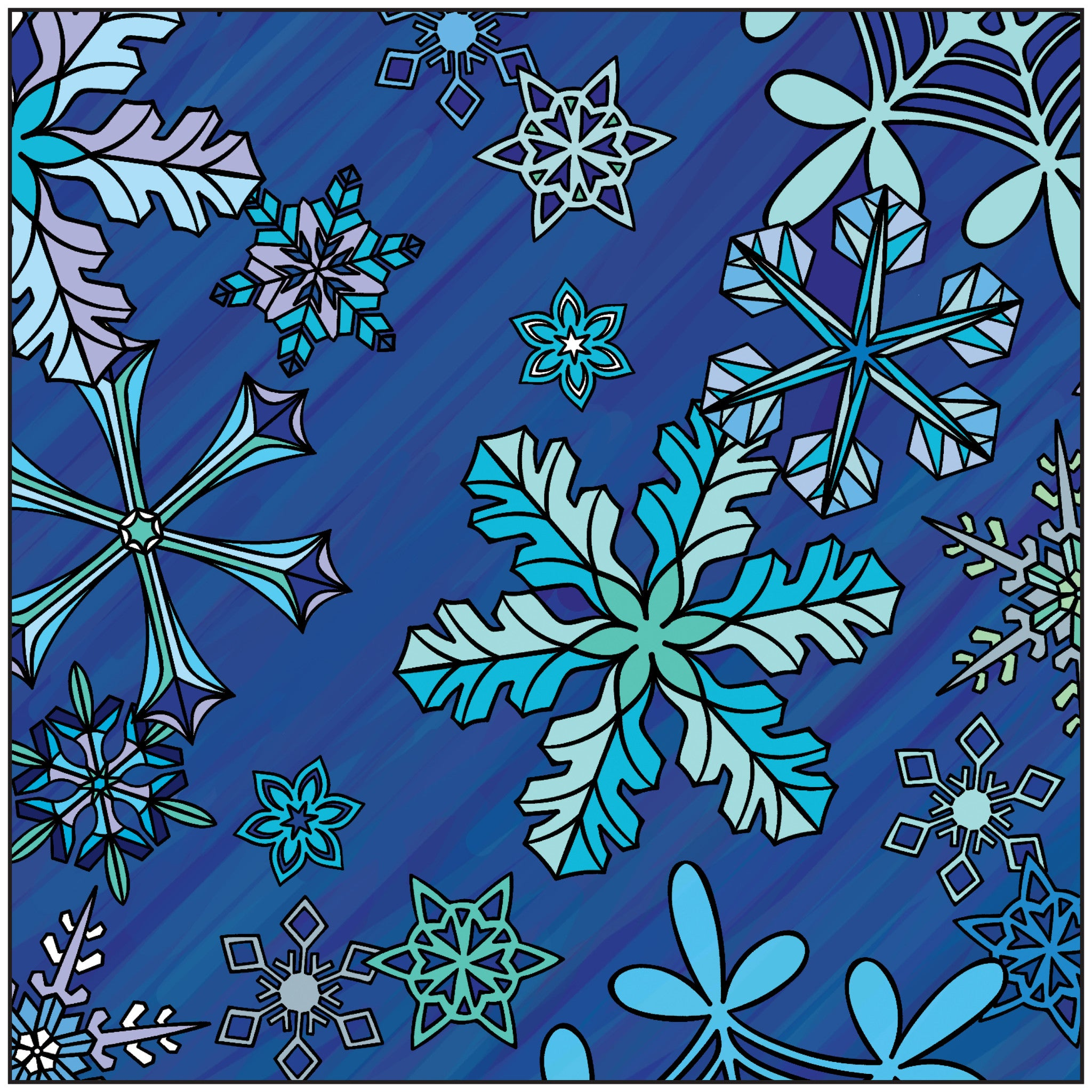 Winter Wonderland Adult Coloring Book With Relaxation CD ...