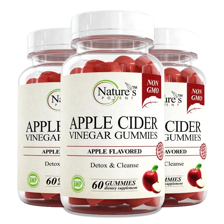 3 X Bottle of Apple Cider Vinegar Gummies