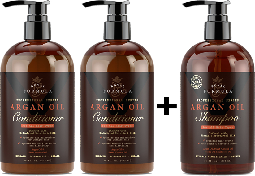 Buy 2 Argan Oil Conditioner Get Free Shampoo