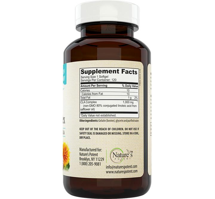 Amazon.com: Pure CLA Safflower Oil Supplement - 180