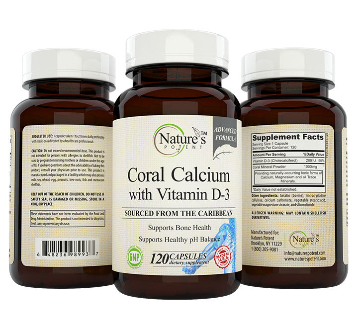 Coral Calcium with Vitamin D-3