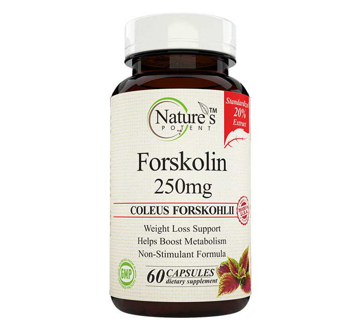 Nature's Potent Forskolin 250mg