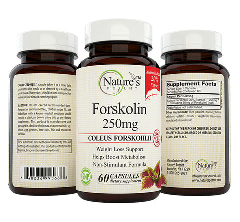 Forskolin 250 Mg