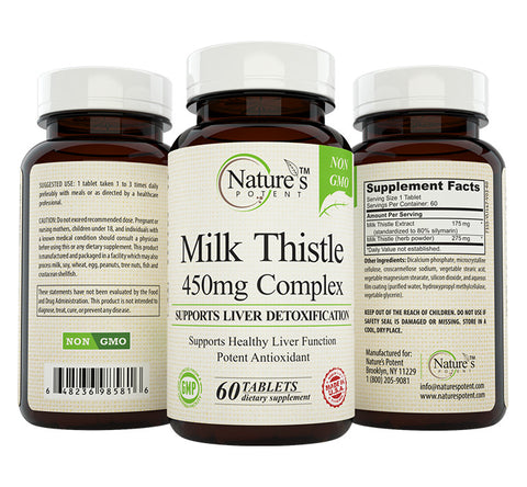 Milk Thistle 450mg Extract