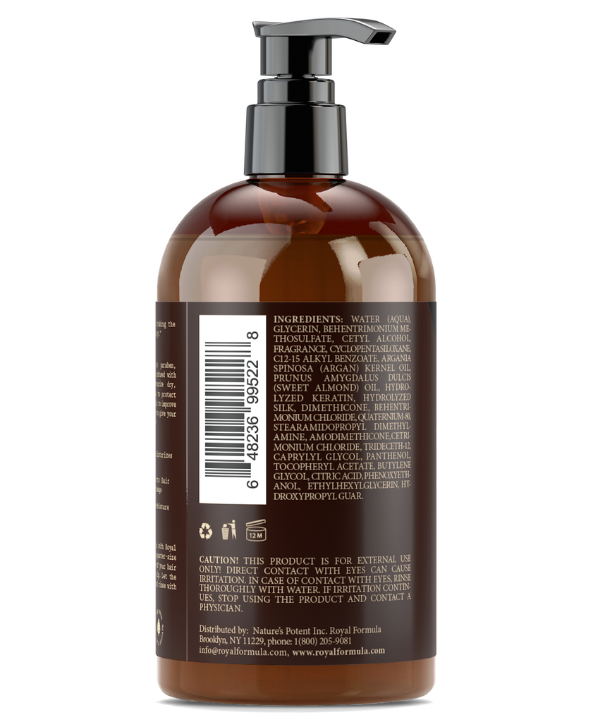 Royal Formula Argan Oil Hair Conditioner Ingredients Image #7