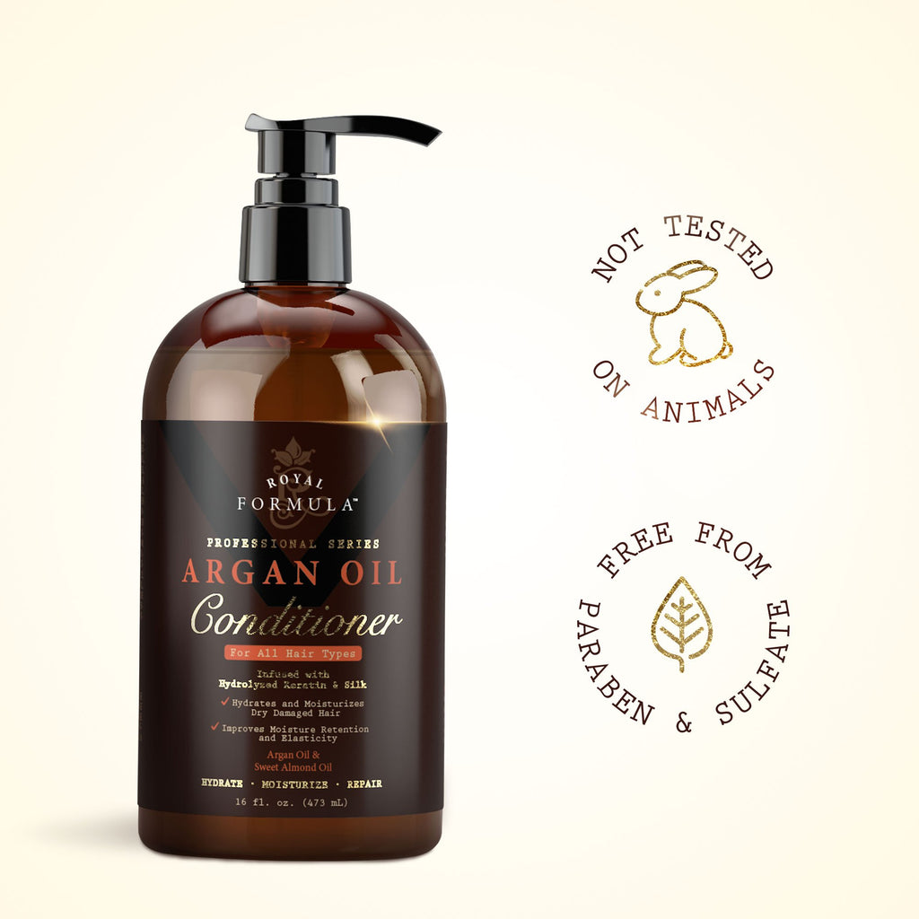Buy 3 x Argan Oil Conditioner - Get FREE Argan Oil Hair Mask