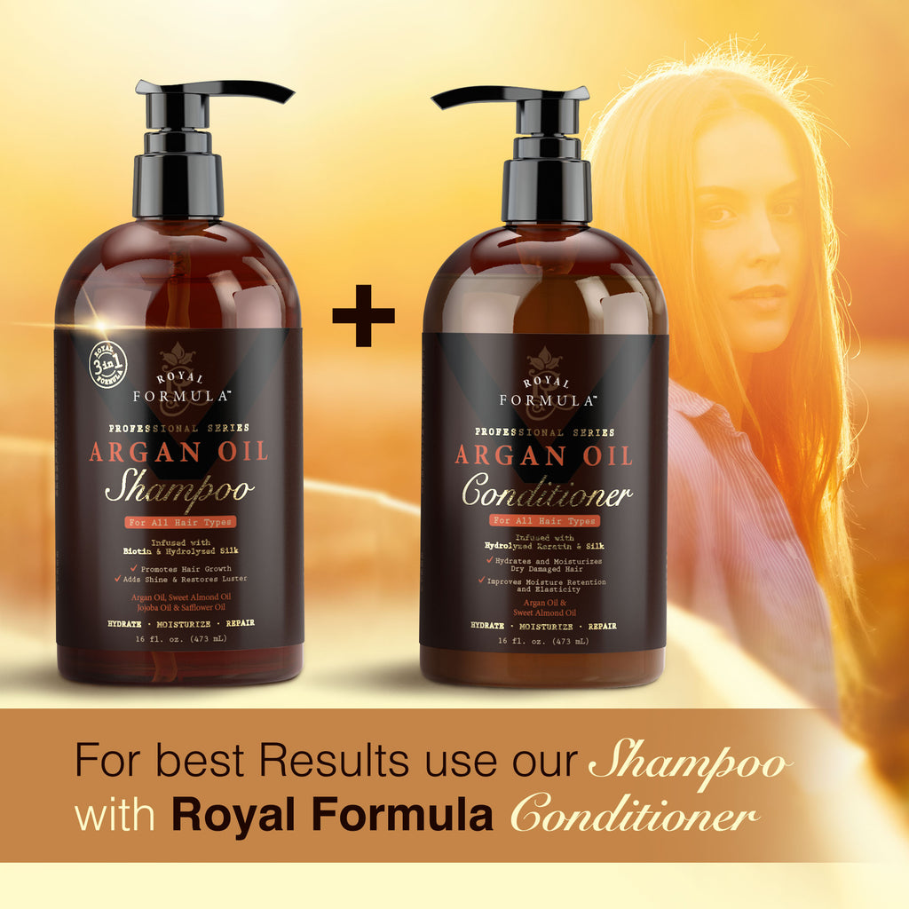 Royal Formula Argan Oil Shampoo and Conditioner Set Image #4