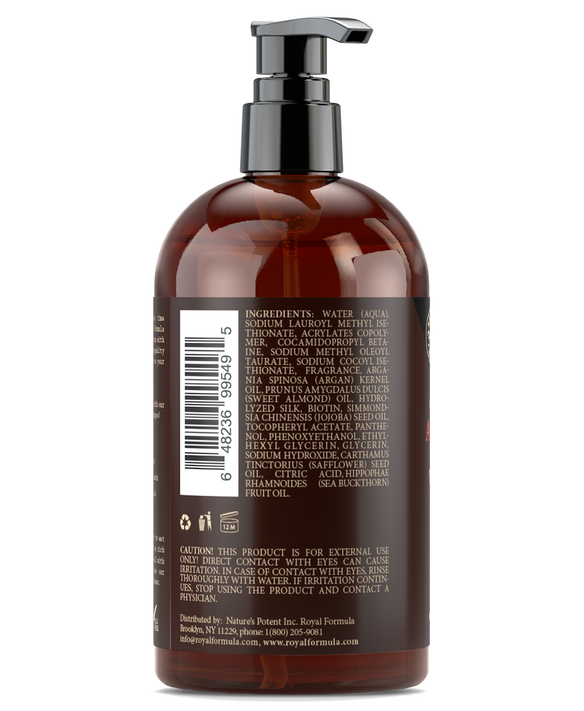 Royal Formula - Argan Oil Shampoo [ingredients] Sulfate Free