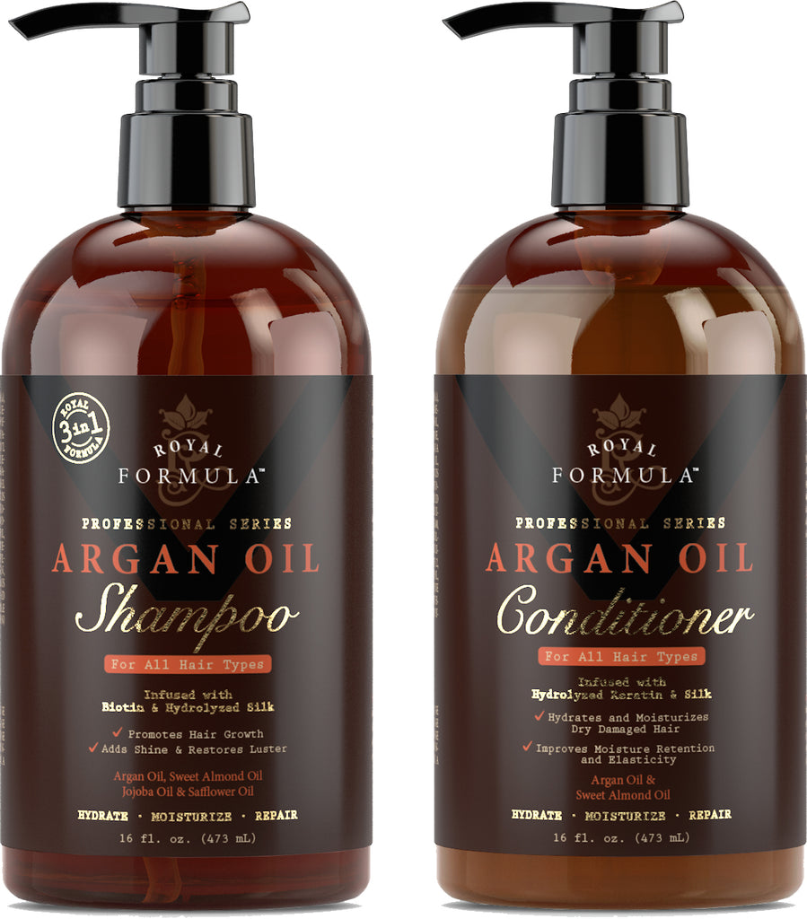 Royal Formula - Argan Oil Shampoo and Conditioner Set Image #1