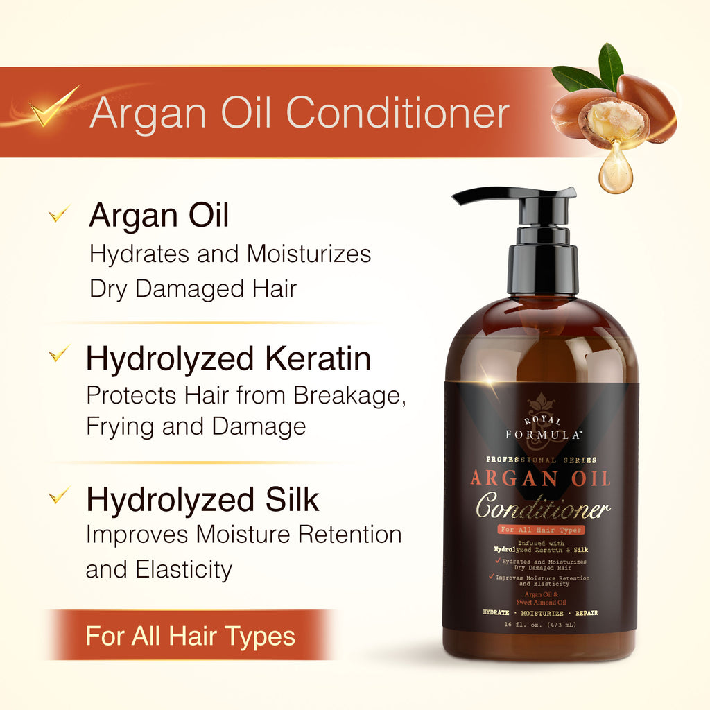 Royal Formula Argan Oil Hair Conditioner with Keratin Image #2