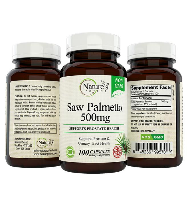 Saw Palmetto Supplement DD-4Y8M-L5Y8