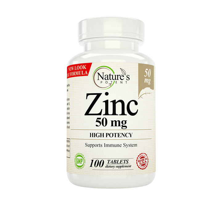 Zinc Supplement 50mg