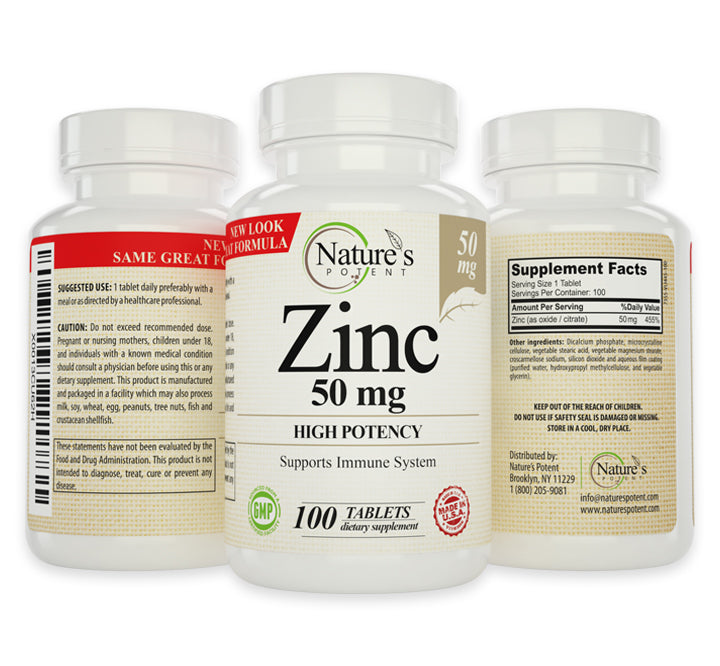 Zinc Supplement Made in USA