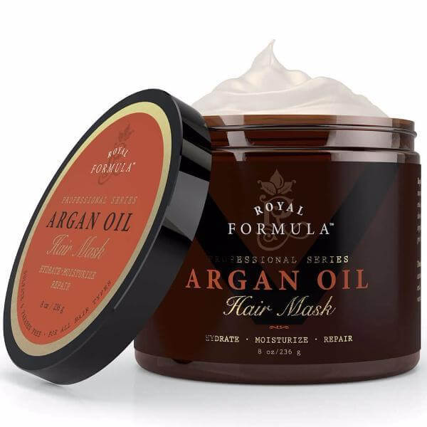 Nature's Potent - Royal Formula Argan Oil Hair Mask, 8 oz. - 236 mg