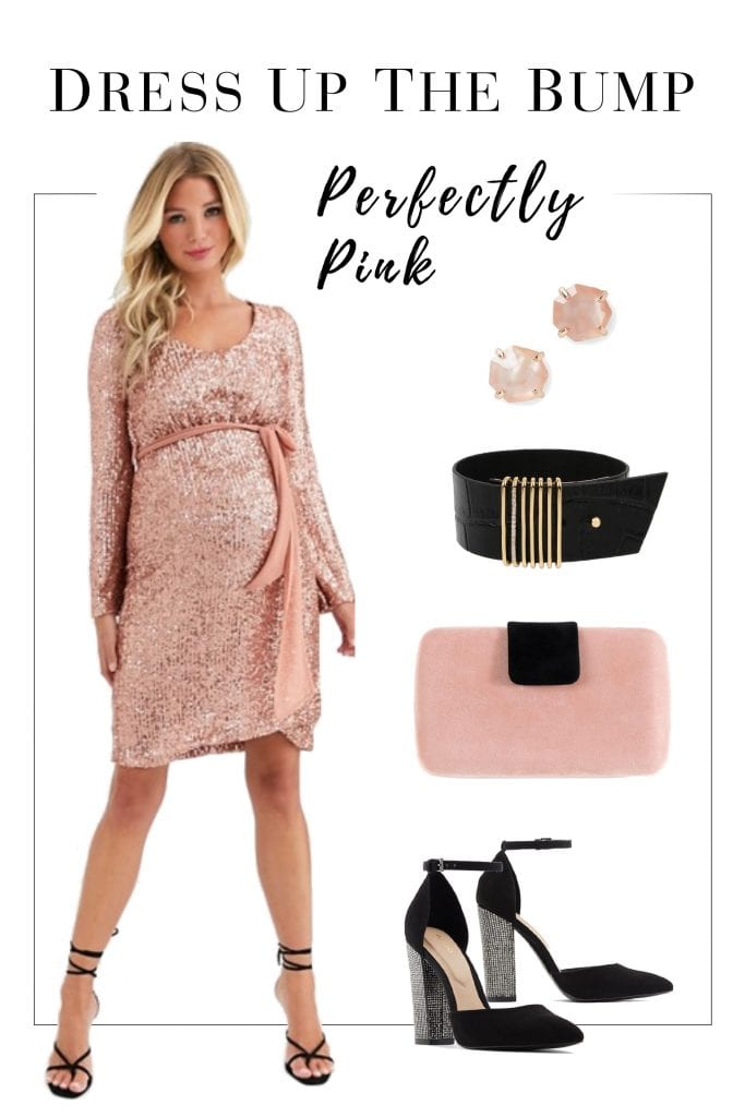 A Spoiled Mama's Holiday Maternity Fashion