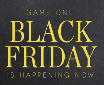 Give thanks...Your Black Friday Beauty Deals are here!