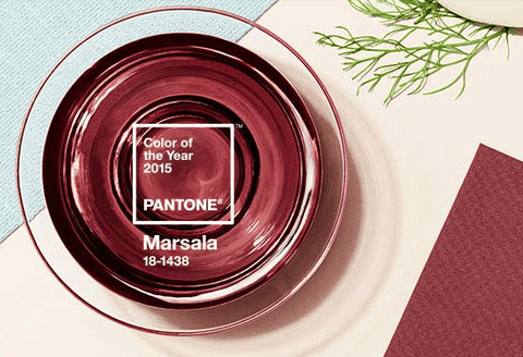 Marsala Nursery: Pantone Color of the Year 2015