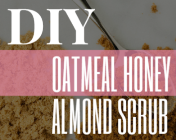 DIY: Oatmeal Honey Almond Sugar Scrub -- Banish itchiness in pregnancy now!