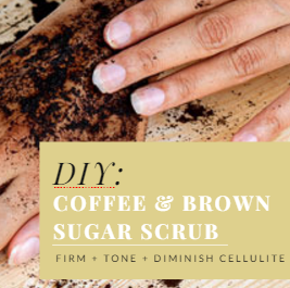 DIY: Get Perky Coffee Ground Scrub