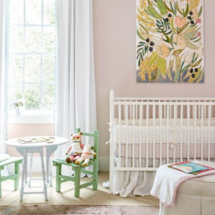 Pantone 2017: Nursery ideas in blooming 'Greenery'