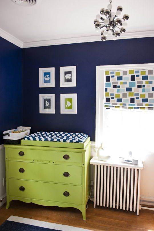 Pantone Color of the Year: Greenery featured in baby nursery