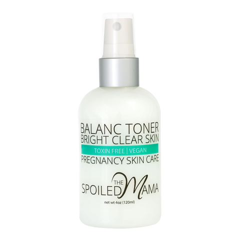 acne toner, pregnancy safe skin care | The Spoiled Mama, pregnancy skin care