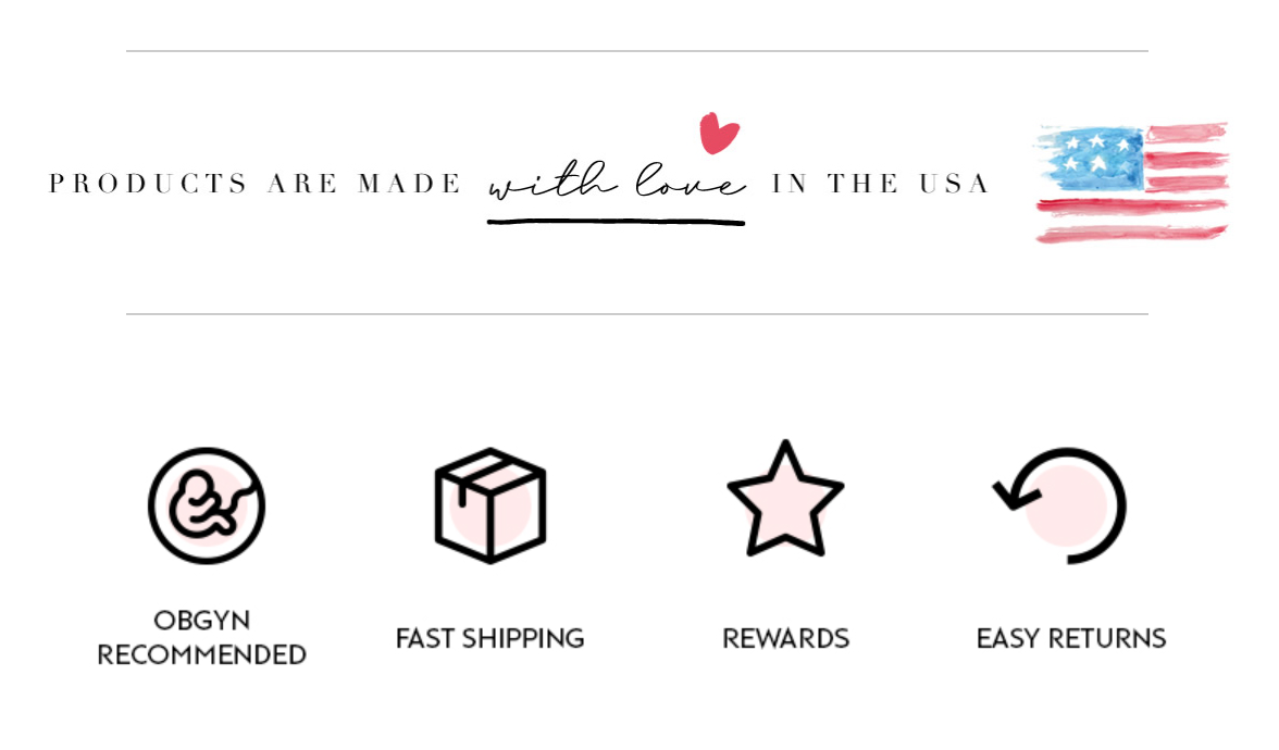 spoiled mama shipping and pregnancy skincare made in USA