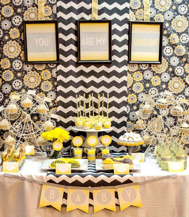 Gender Neutral Baby Shower Ideas The Spoiled Mama